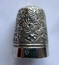 Collectable  Silver Nickel Thimble 10203