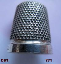 Collectable Hallmarked Silver Thimble THE SPA 10668
