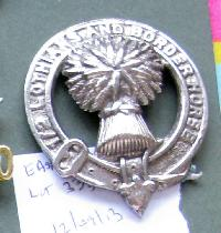 £20.00 - Collectable  British  Military Cap Badge 10778