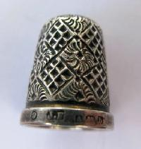 Collectable Hallmarked Silver Thimble 10878