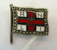 £60.00 - Collectable RNLI Pin in Silver and Marcasite10901