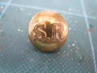 £4.00 - Collectable Vintage Railway Button 11552