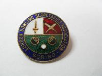 £6.00 - Collectable Vintage Bowling Club  Badge 11709