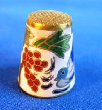 £3.00 - Collectable Chinese Style Thimble 6763