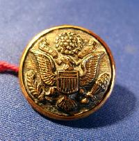 £4.00 - Collectable Vintage Metal Button USA Army 7174