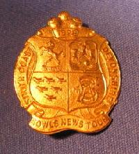 Collectible Devonshire Bowling Badge #7369