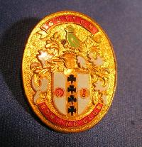 Collectible Sutton Bowling  Club Badge #7389