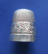 Collectable Silver Thimble 7486
