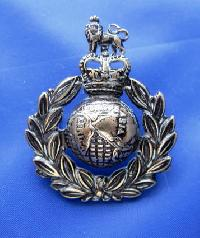 £6.00 - Collectable Vintage Military  Button Royal Marines 7771