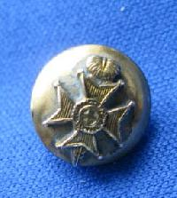 £4.00 - Collectable Vintage Military  Button Royal Sussex7932