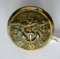 £7.00 - Collectable   Vintage Button Royal Yacht Club 8091