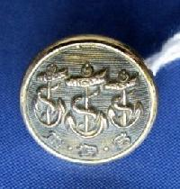 £6.00 - Collectable Vintage Yacht Club  Button 8532