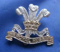 Collectable British  Military Cap Badge Royal Hussars 9136