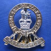 Collectable British  Military Cap Badge Kings Royal Hussqars 9137