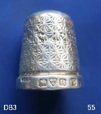 Collectable Hallmarked Silver Thimble 9190