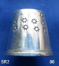 Collectable   Silver Thimble 9257