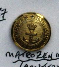 £6.00 - Collectable Vintage Maritime Button 9260