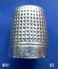 Vintage Silver Clad Dorcas Thimble By Charles Horner 9299