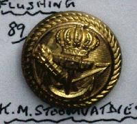 £6.00 - Collectable Vintage Maritime Button 9326