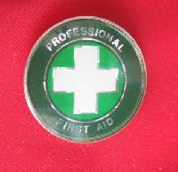 Collectable Enamel Red Cross Badge 9471