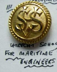 £6.00 - Collectable Vintage Maritime Button 9618