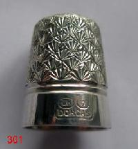 Vintage Silver CladThimble By Charles Horner 9990