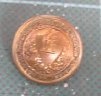 Collectable Vintage Railway Button 11553
