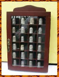 Collection of 24 Charles Horner Silver Thimbles 8847
