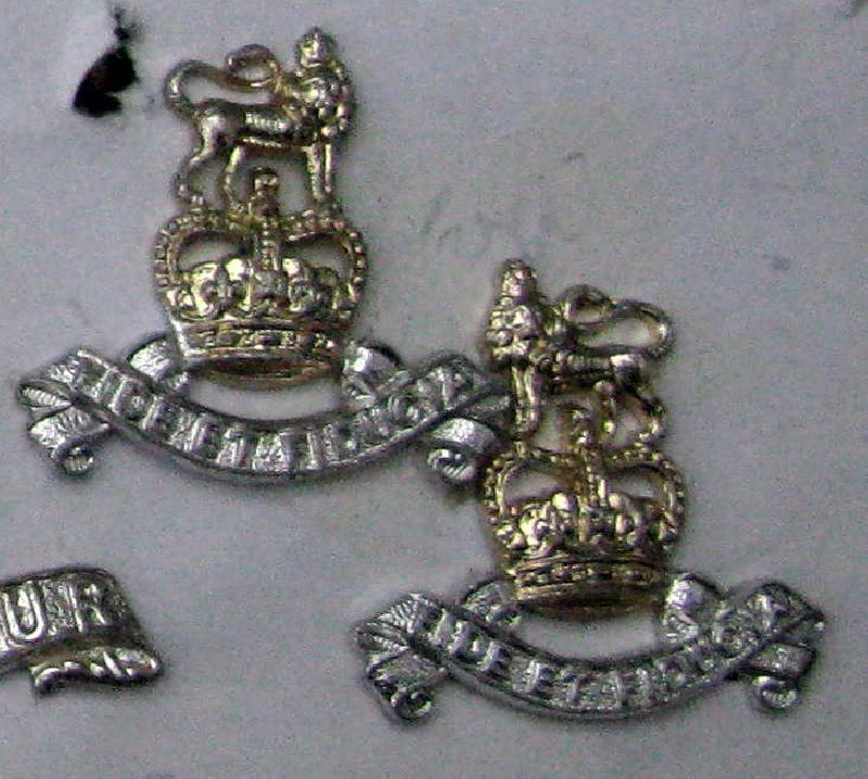 One Pair of Collar Badges