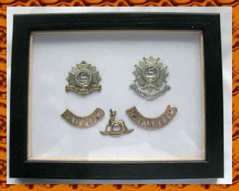 Collectable Selection of Framed Badges 10473