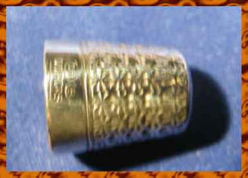 Collectable Silver Thimble Horner Dorcas 7504