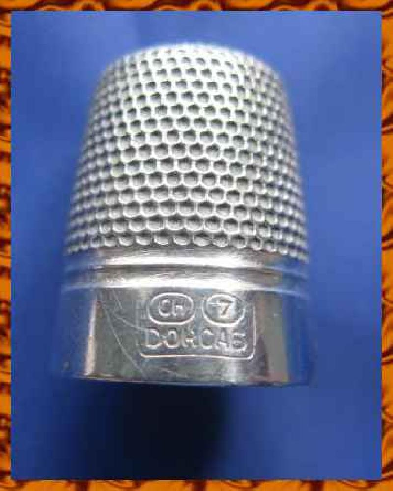 Vintage Silver Clad Dorcas Thimble By Charles Horner 8773